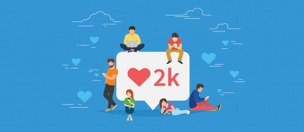 sosyal medya kitlesi