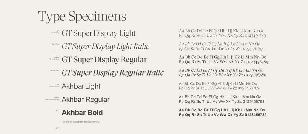 tipografi örneği